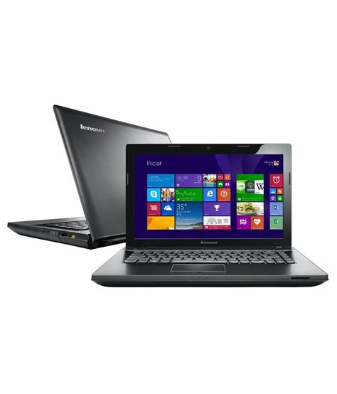 Lenovo Ram 2gb lenovo essential g405 laptop 59 415701 amd apu a4 2gb ram 500gb hdd 35 56cm 14 dos 256