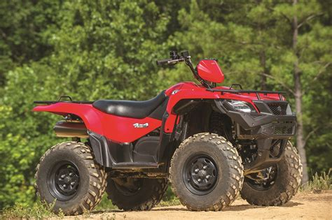 Suzuki 500 Atv Dirt Wheels Magazine Atv Test 2016 Suzuki Kingquad 500