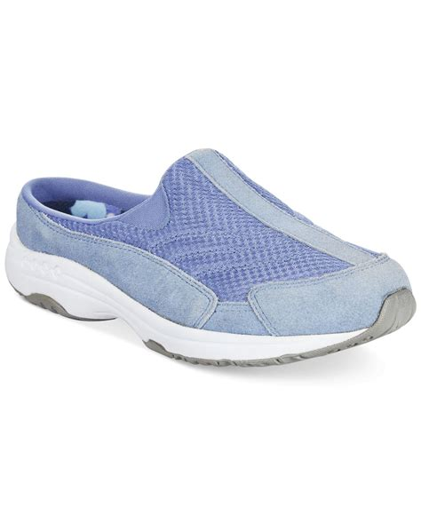 easy shoes easy spirit traveltime sneakers in purple periwinkle lyst