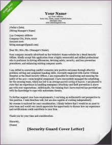 Request Letter Format For Security Guard Security Letter Sle Proposalsleletter