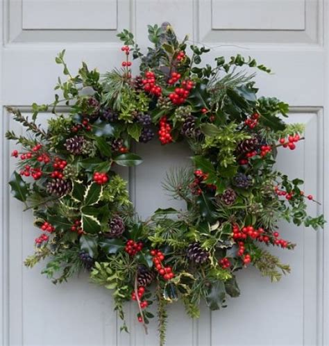 christmas wreaths rich pickings
