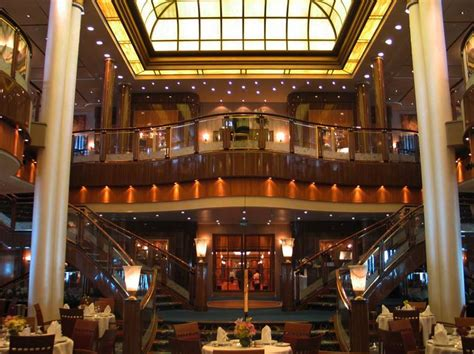 Pub Dining Room Table by Rms Queen Mary 2 Cruise Ship