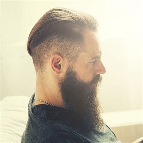 slick back hair and beard 75 best images about beards on pinterest men s hairstyle