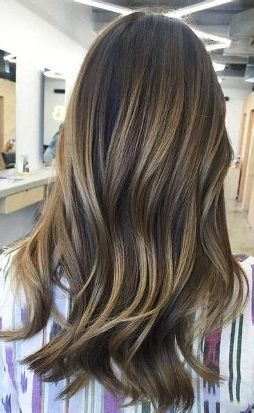 how to blend your highlights brunette balayage blend hair color pinterest colors