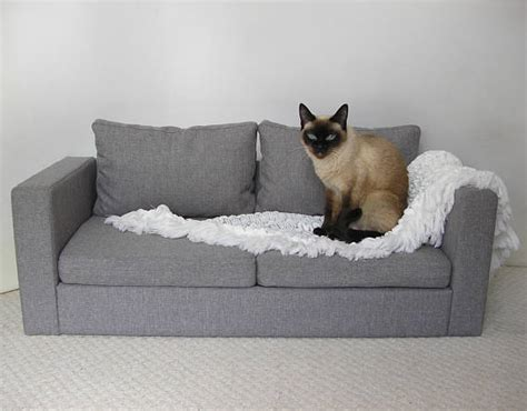 cat chaise lounge mini copy of ikea sofa for two cats sofa dog sofa pet pet