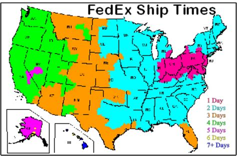 fedex time in transit map casadewicca
