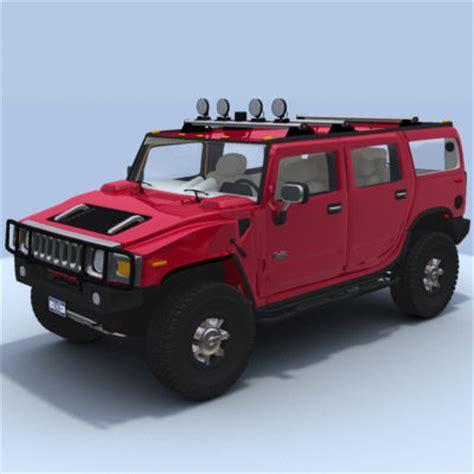 Hummer H2 Kaos 3d Umakuka 1 3d model hummer h2 interior