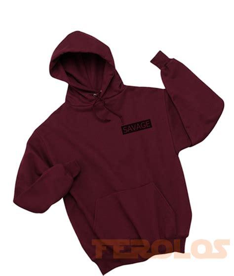 Sweater Hoodie Unisex Pull savage unisex hoodies maroon pull shirts
