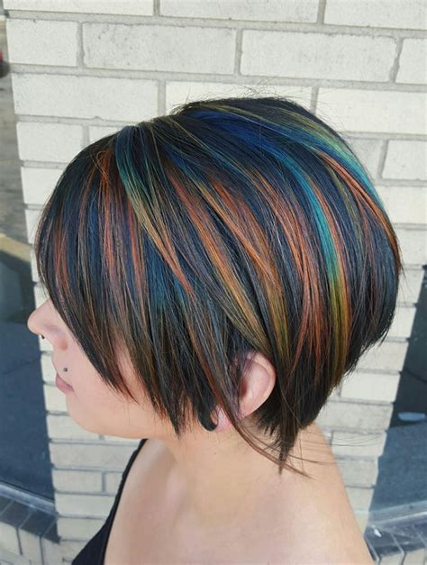 oval foil hair color 933 best hair images on pinterest pixie cuts pixie