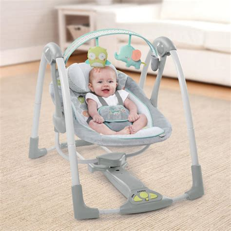 portable swing for baby swing n go portable swing hugs hoots