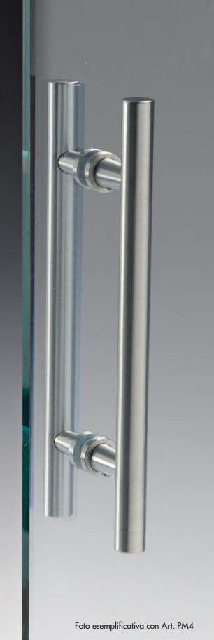 maniglie per porte in vetro maniglia pm 174 ottone alluminio doppia tonda per porte in