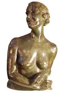 french art deco bronze sculpture  isadora duncan modernism