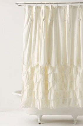cream ruffle curtains ruffled shower curtains showers and cream on pinterest