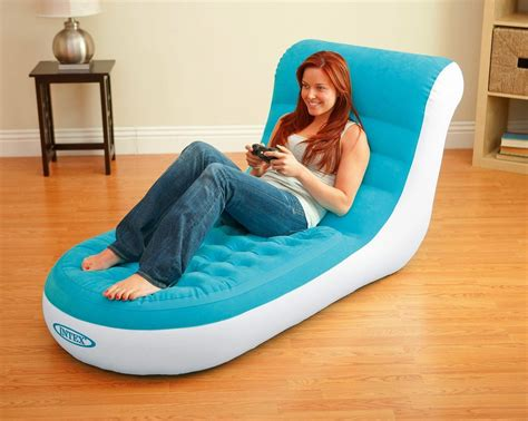 inflatable couch for pool new intex 68880np inflatable splash lounge relaxing