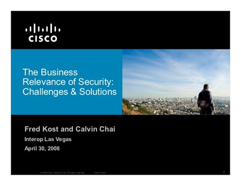 what is security challenges the business relevance of security challenges solutions
