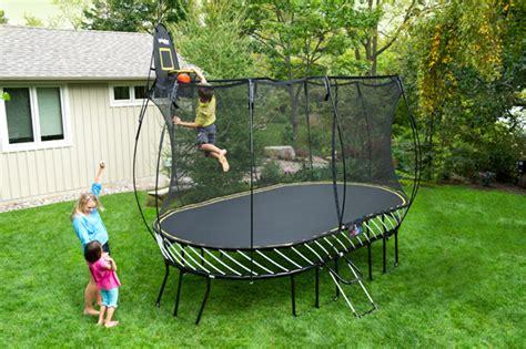 springfree large    oval trampoline stevensons toys