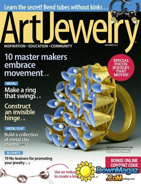 jewelry magazines jewelry usa september 2015 187 pdf magazines