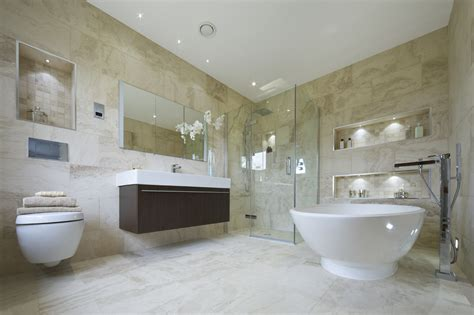 Luxury Modern Bathroom Renovating Areas What Can You Do Yourself