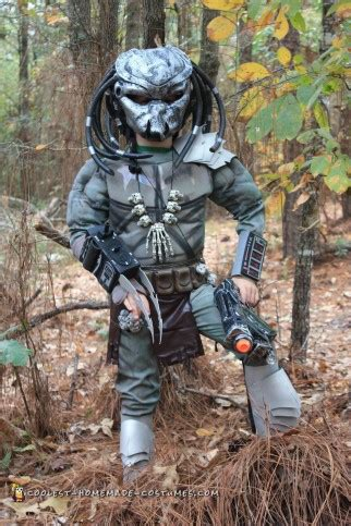 wicked awesome predator costume  boy