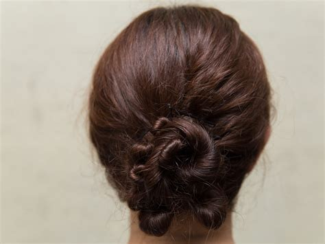 Hairstyle Buns Images by Image Gallery Hair Buns