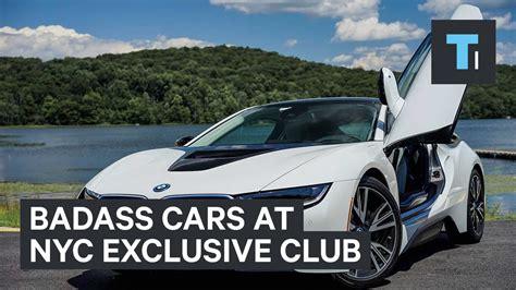 badass cars badass cars at nyc exclusive club