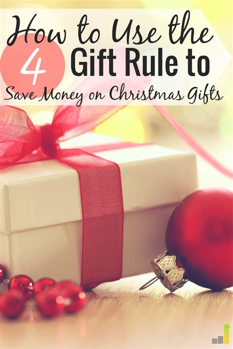 how to save money on christmas presents will the 4 gift rule work for your family this frugal