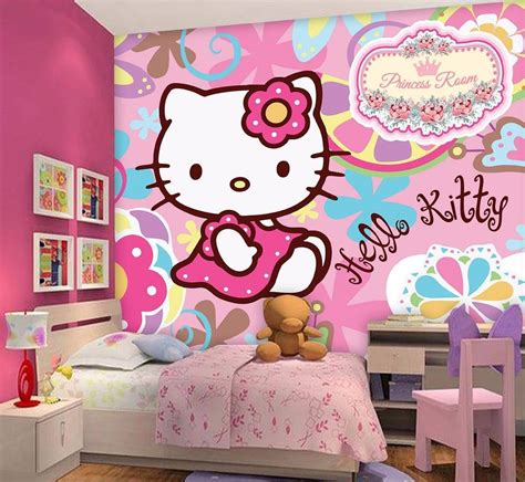 hello kitty wallpaper biru gambar wallpaper kamar paris gudang wallpaper