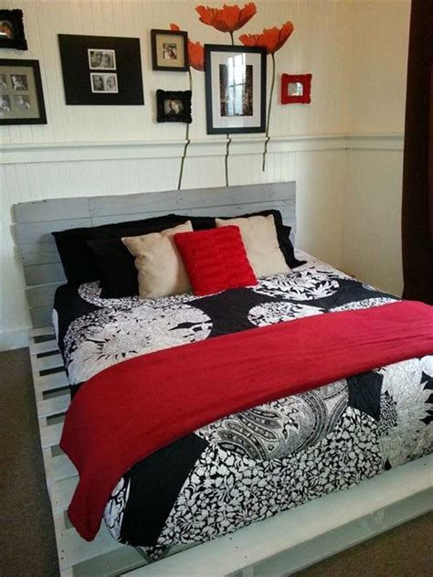how to make a bed frame from pallets how to make a diy pallet bed frame pallets designs
