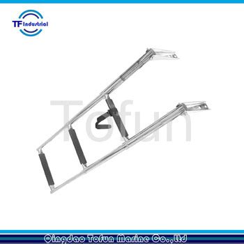 boat ladder parts accessories buy stainless steel marine boat ladder 3 steps boat parts