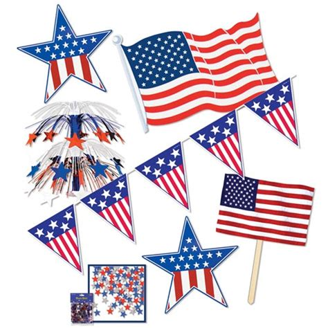 patriotic decorating kit partycheap
