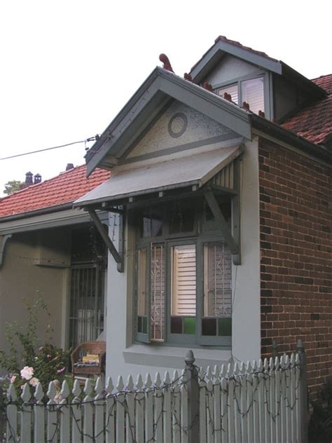 metal house awnings randwick metal awning home pinterest