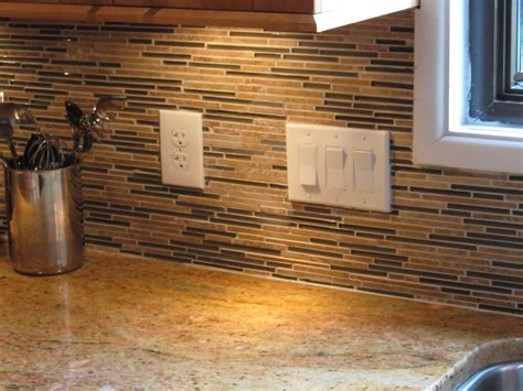 Glass Tile Backsplash Pictures For Kitchen Kitchen Backsplash Afreakatheart