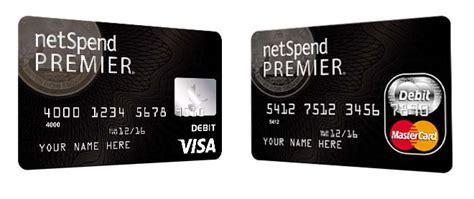 Netspend Gift Card - netspend premier visa prepaid card best free home design idea inspiration