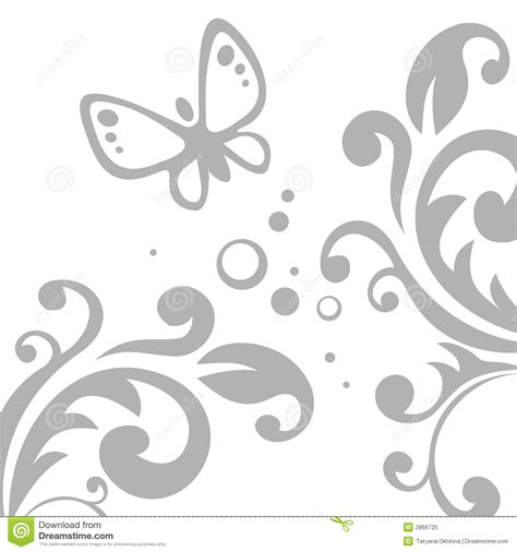 grey pattern clipart grey pattern and butterfly stock vector illustration of