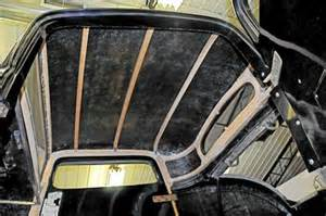 Car Interior Tape Hushmat Installation In A 32 Ford Coupe Cool Quiet