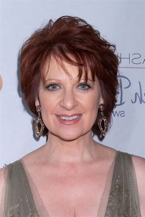 red short hairstyle for women over 50 caroline manzo short red wavy haircut for women over 50