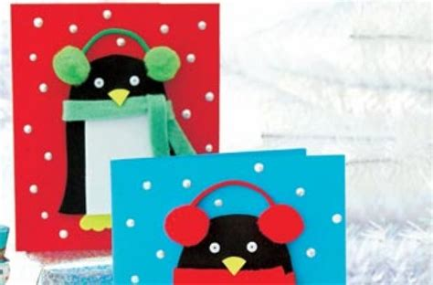 christmas penguin cards goodtoknow