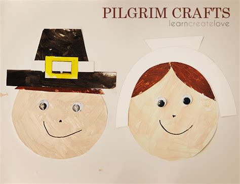 pilgrim crafts for pilgrim and mayflower crafts and treats happy home