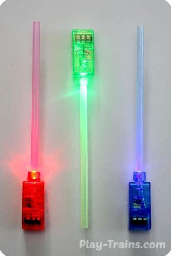 mini light up lightsabers diy mini lightsabers wars craft play trains