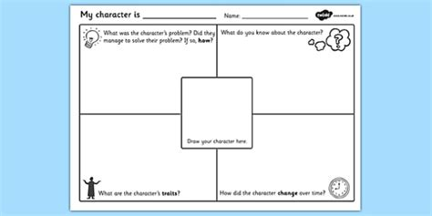 character description template ks1 character description writing template character description