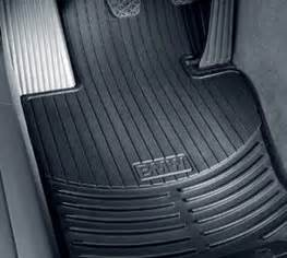 2009 Bmw X5 All Weather Floor Mats Bmw X5 E70 All Weather Rubber Floor Mats Front Black