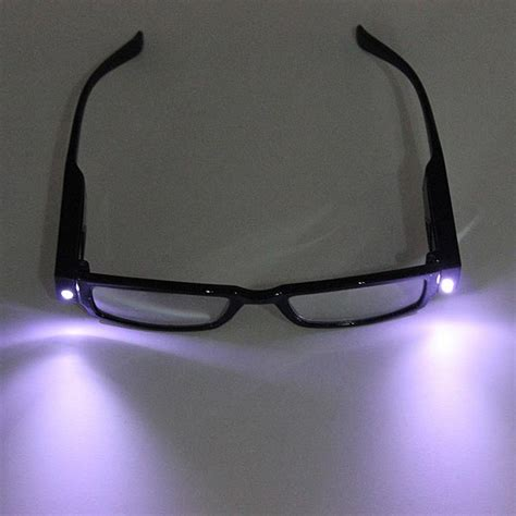 light with led lights reading glasses vision glasses with l
