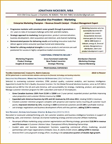 5 marketing operations executive resume free sles exles format resume curruculum
