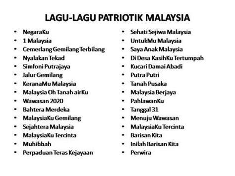 lagu merdeka malaysia 2014 lagu patriotik malaysia authorstream