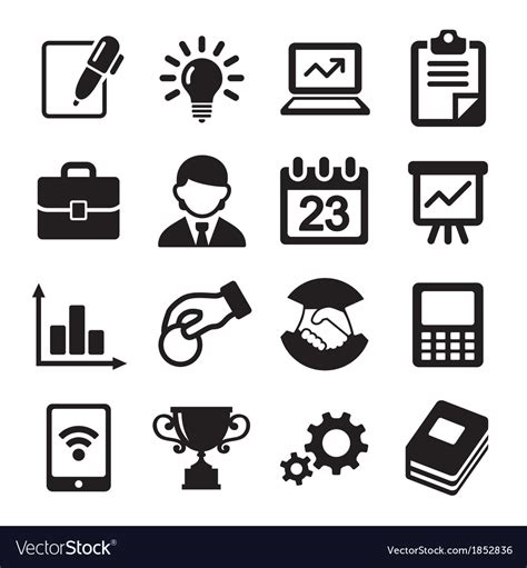 business icons stock vector more images of 524533800 istock business icons management and human resources vector image