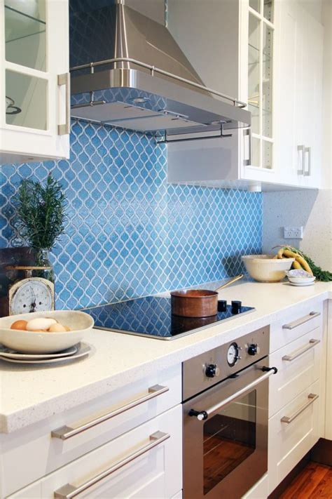blue tile backsplash kitchen 91 best kitchen backsplash images on