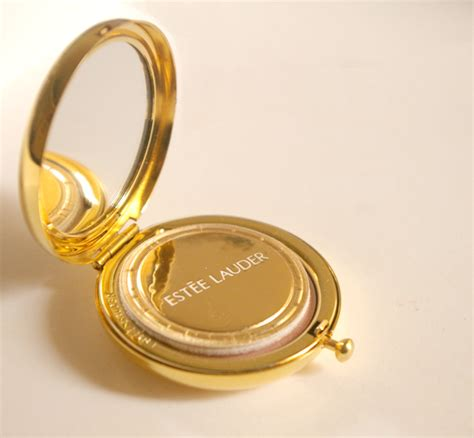 estee lauder shimmer powder compact and collectible compacts