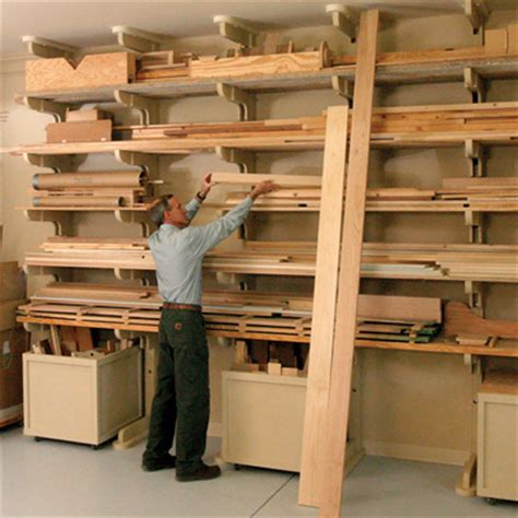 Garage Lumber Storage Ideas Woodworking Workshop Design And Tool Storage