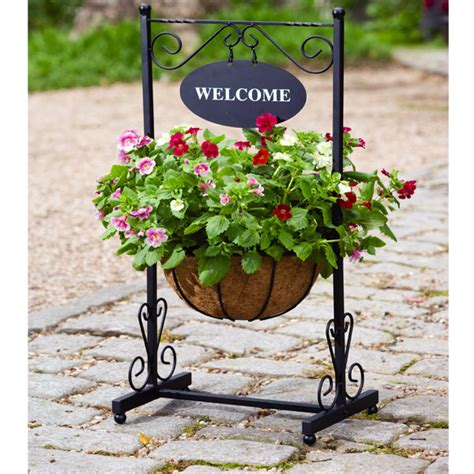Welcome Planters by Metal Zinc Planters Sale Fast Delivery Greenfingers
