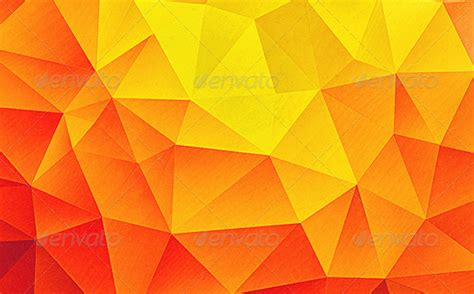 modern high contrast multicolor polygon background